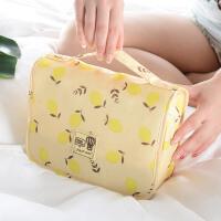 旅行洗漱包便携式化妆包大容量防水出差旅游用品套装洗浴包收纳袋d
