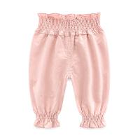 女童婴儿裤子新款女宝宝打底裤3-7-2个月韩版儿童装春秋装