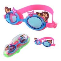 儿童泳镜防水防雾高清大框游泳卡通可调节眼镜男女童游泳潜水装备新品