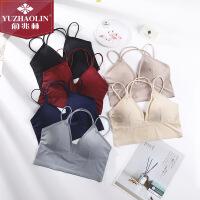 俞兆林春夏新款女士日系一片式光面裹胸冰丝美背清凉透气抹胸Ⅱ