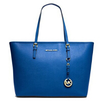购物袋 Michael Kors 迈克科尔斯 MK女包 女士牛皮单肩斜手提挎托特包 30S6STTT3L