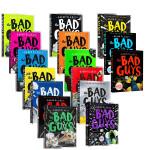 顺丰包邮 英文原版 The Bad Guys 大坏蛋/砍人先生1-8本套装 Aaron Blabey儿童黑白漫画故事电