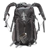 户外登山包双肩背包男女通用旅游旅行徒步背包35L防水耐磨 35L(送:口哨 瓶夹 头巾)
