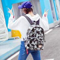 双肩包女韩版潮书包中学生大容量旅行包休闲运动背包