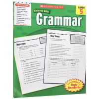 Scholastic Success with Grammar 5 美国小学五年级英语语法练习册 英文原版 英文版学乐进