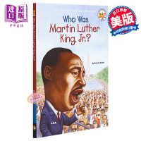 【中商原版】马丁路德金是谁?英文原版 Who Was Martin Luther King, Jr.? 纽约时报畅销书