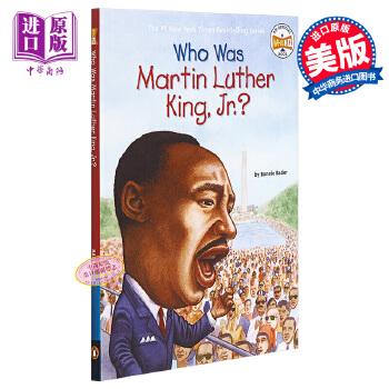 【中商原版】马丁路德金是谁?英文原版 Who Was Martin Luther King, Jr.? 纽约时报畅销书 历史名人科普 6-12岁