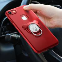 新款iphone7plus全包手机壳苹果7磁吸指环支架iphone6splus保护套