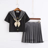 日系jk制服软妹长袖水手服女中间服学生装校服班服学院风套装