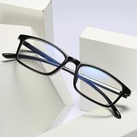 防辐射眼镜男女防蓝光电脑镜护目镜无度数平光眼镜架配近视眼镜框