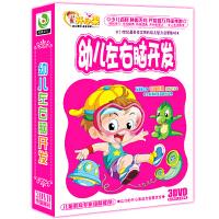 左右脑智力开发3DVD 幼儿早教启蒙卡通动画光盘儿童教育