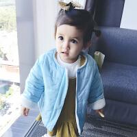 宝宝衣服冬季1岁9个月童新生儿棉衣外套婴儿加厚保暖外出服