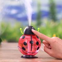 物有物语 加湿器 迷你便携 甲壳虫加湿器USB带吸盘旋转家用办公加湿器小夜灯
