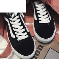 潮牌夏装新款小白鞋学生硫化鞋百搭男女滑板鞋帆布鞋韩版系带情侣鞋潮