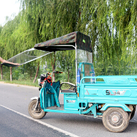 三轮车雨棚车篷前车头电瓶车遮雨蓬驾驶室快递电动三轮车车棚雨篷新品