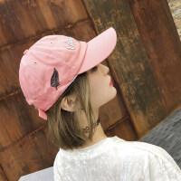 韩版百搭潮人嘻哈帽子男 学生街头遮阳帽女英伦鸭舌帽 户外防晒棒球帽女
