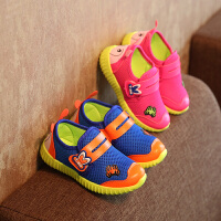 儿童运动鞋毛毛虫男童鞋女童透气休闲网鞋宝宝婴儿网面鞋子