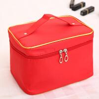 大号韩国大容量少女心便携化妆箱旅行简约化妆包收纳包收纳袋