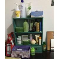 化妆品收纳盒置物架木质大收纳架抽屉式办公桌面收纳储物盒