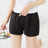 2018夏安全裤 可外穿女士三分打底裤春夏薄款保险裤宽松短裤