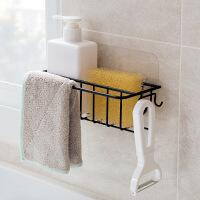 居家家水槽挂架水池抹布架挂钩沥水架厨房用品置物架窗台收纳大全