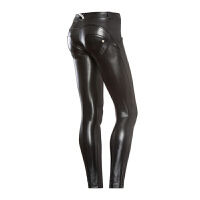 意大利Freddy 低腰时尚版黑色显瘦提臀紧身裤蜜桃臀裤翘臀裤女 N