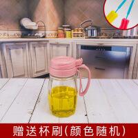 厨房用品玻璃调味罐盐罐佐料盒调料盒家用防漏油壶酱油瓶醋瓶套装