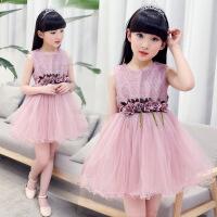 儿童装5小女孩子穿的6公主裙子8女童9衣服7连衣裙夏装4夏天12岁十