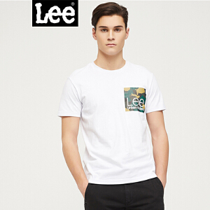 Lee2018新款商城同款都市骑士短袖T恤 3色可选 L302082LQK14 L302082LQK11 L302082LQ7NQ
