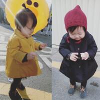 女童棉衣外套 2017冬装韩版婴幼儿宝宝中长款加厚棉袄外出服