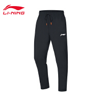 李宁运动裤男士2020新款训练系列冰感舒适吸湿排汗针织运动长裤