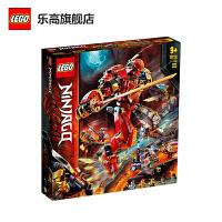 【����自�I】LEGO�犯叻e木 幻影忍者Ninjago系列 71720 火焰大地�C甲 玩具�Y物