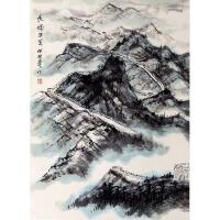 1257    何海霞(款)《长城万里》