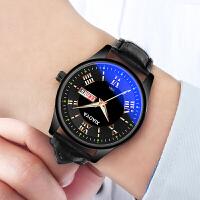 男士手表防水时尚韩版潮流学生夜光石英腕表非机械表