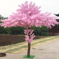 假树仿真樱花假桃树大型植物加密仿真樱花树仿真桃花树许愿树桃花装饰