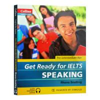 华研原版 柯林斯雅思口语 英文原版 Get Ready for IELTS Speaking 备考雅思 英语考试辅导书