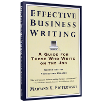 正版现货 高效商务英语写作 英文原版工具书 Effective Business Writing 全英文版进口书籍