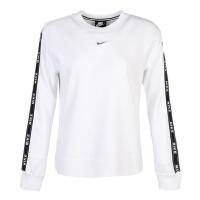 Nike耐克2019年新款女子AS W NSW CREW LOGO TAPE套头衫AR3055-100