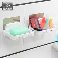 双庆家居 吸盘香皂架无痕贴沥水肥皂架浴室香皂碟 SQ-5050