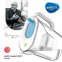 碧然德BRITA家用滤水壶净水壶Style设计师系列3.5L净水壶净水器 天际蓝