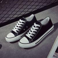 新款经典帆布鞋子硫化男鞋情侣款学生鞋春季韩版