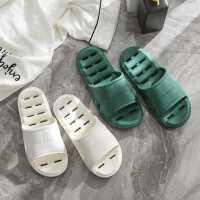 浴室拖鞋女夏天居家洗澡防滑防臭家用室内漏水速干凉拖鞋男士夏季