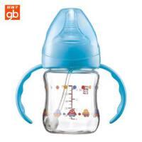 goodbaby好孩子母乳实感宽口径握把吸管玻璃奶瓶120ml 四种系列