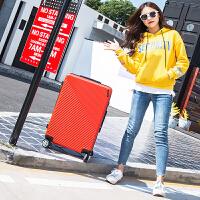 箱子行李箱皮箱拉杆旅行箱万向轮男女24寸韩版密码箱小清新登机箱