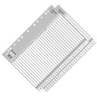 齐心IX899 易分类月度索引纸 分页纸 索引纸 隔页纸11孔A4索引纸