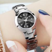 韩版时尚潮流时装手表女学生简约夜光日历男表情侣手表