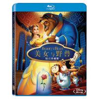 正版高清蓝光电影碟片美女与野兽BD50动画光盘光碟英语1080p