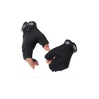 骑行运动手套男士健身房半指运动手套锻练哑铃举重护腕防滑健身手套