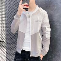 防晒衣服薄款2020新款夏季韩版夹克潮流衣服帅气男士外套