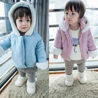 男女宝宝羽绒婴儿棉袄韩版初生儿棉衣0123婴儿外套百天周岁